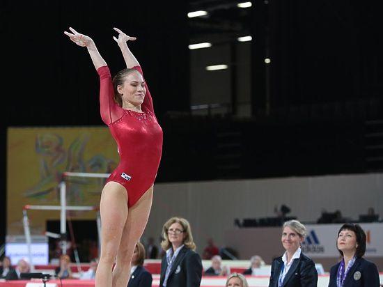 Тульская гимнастка Ксения Афанасьева привезла золото с чемпионата Европы