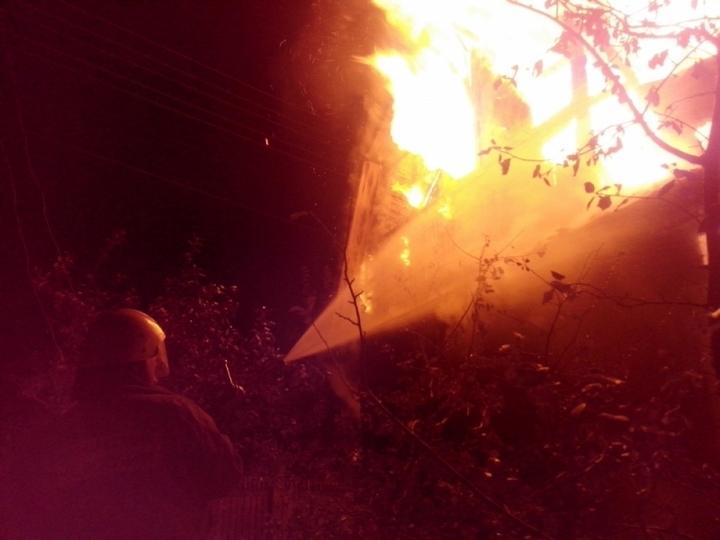 В Ясногорском районе Тульской области сгорела дача