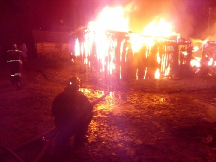 12 сараев сгорели впоселке Веневского района