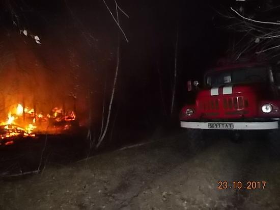 Ночной пожар вЛипках: погибло два человека