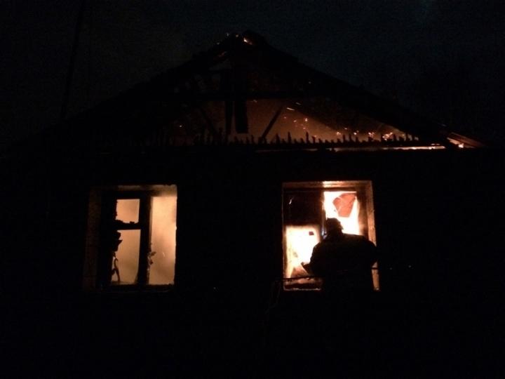 Впожаре вНовомосковске пострадал один человек